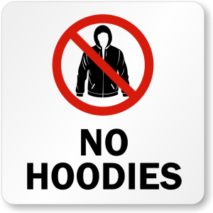 Brendan Spaar says no to hoodies